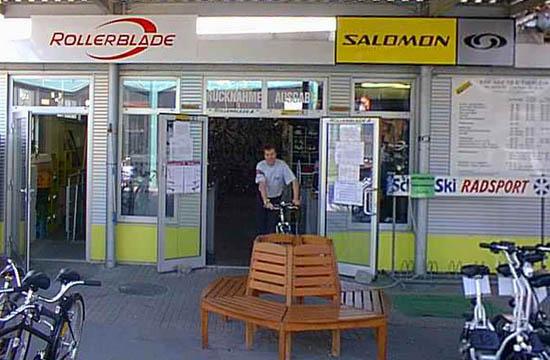 Shop Rad- und Skateverleih Copa Kagrana in 1220 Wien