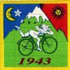 Albert Hofmann auf LSD Blotter