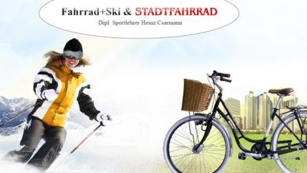 Fahrrad + Ski